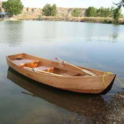 Motor Canoe Printed Plans