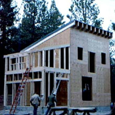 Plywood Cabin Printed Plans