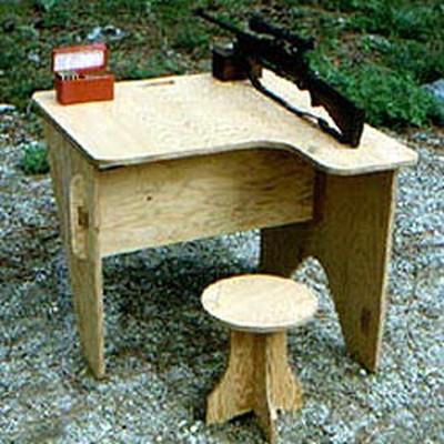 Portable Shooting Bench Printed Plans