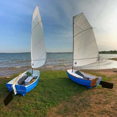 Portage Pram Daggerboard and Foils Package