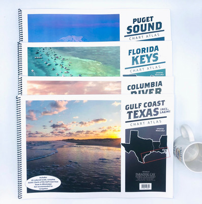 Chart Books for Various Small-Boat Cruising Grounds