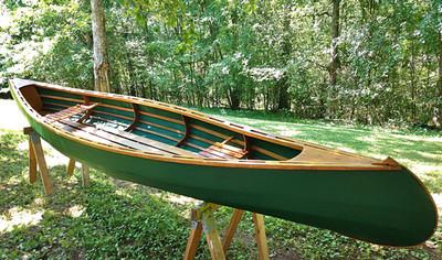 The Great Wicomico Canoe Printed Plans