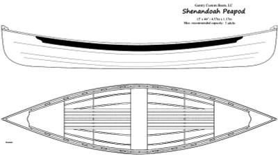 Shenandoah Peapod Printed Plans