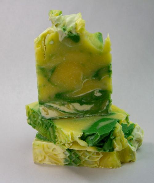 Citrus Mint Soap (EO) - 4.5oz Bar (+-.5oz)