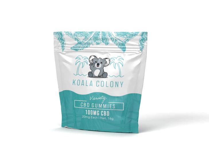100mg CBD Gummy Bears – Variety
