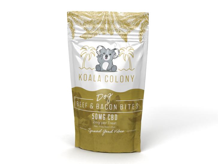 50mg CBD Dog Beef & Bacon Bites