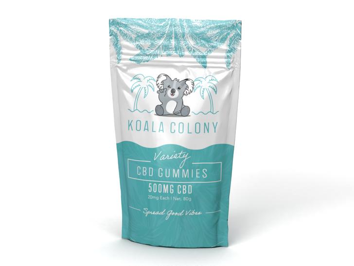 500mg CBD Gummy Bears – Variety