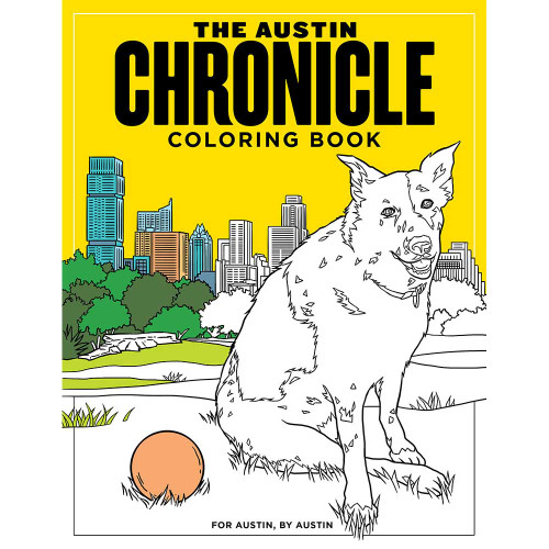 Austin Chronicle Coloring Book Digital Download Packages