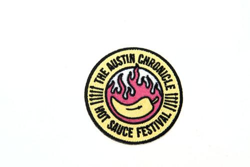Hot Sauce Festival Patch