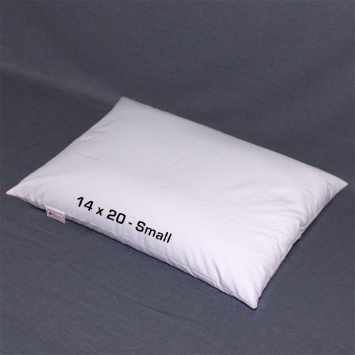 "14"" x 20"" (Small) Buckwheat Hull Pillow"