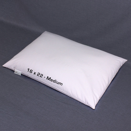 "16"" x 22"" (Medium) Buckwheat Hull Pillow"