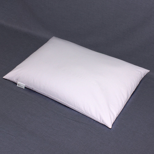 """The 16 x 22"""" Medium pillow is our most popular size.  The recommended fill amount is 5.5 pounds."""