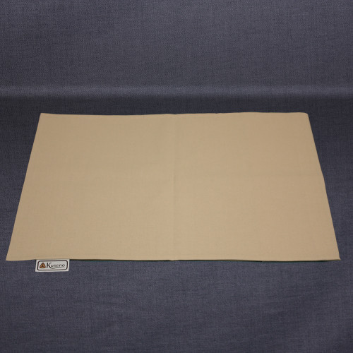 Empty Natural (Beige) cotton pillow case. Sized slightly larger than the 16 x 11 pillow to make putting the pillow inside easier.