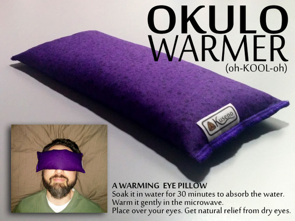 Okulo Warmer - Find relief for dry eye syndrome