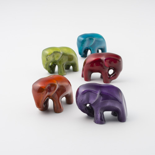 Small Recycled Aluminium Elephant
