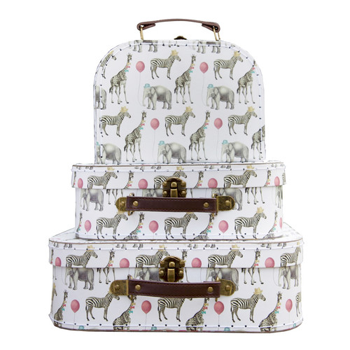 Party Safari Animal Set of Suitcases