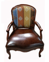 Curved Back Side Chair