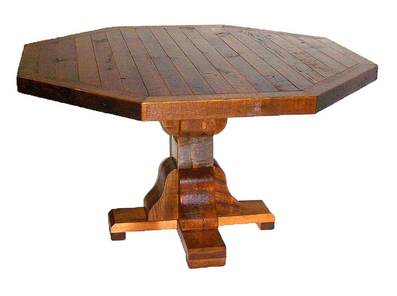 Wrangler Octagon Dining Table - Virtually There Custom Furniture