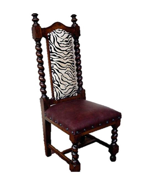 Cattle Baron Twist  Dining Side Chair
