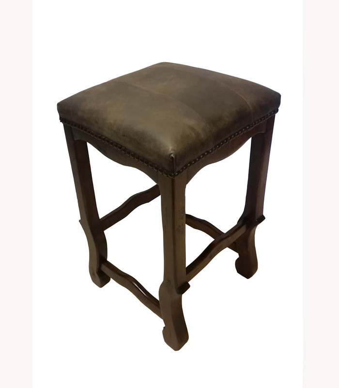 Shaped Backless Barstool