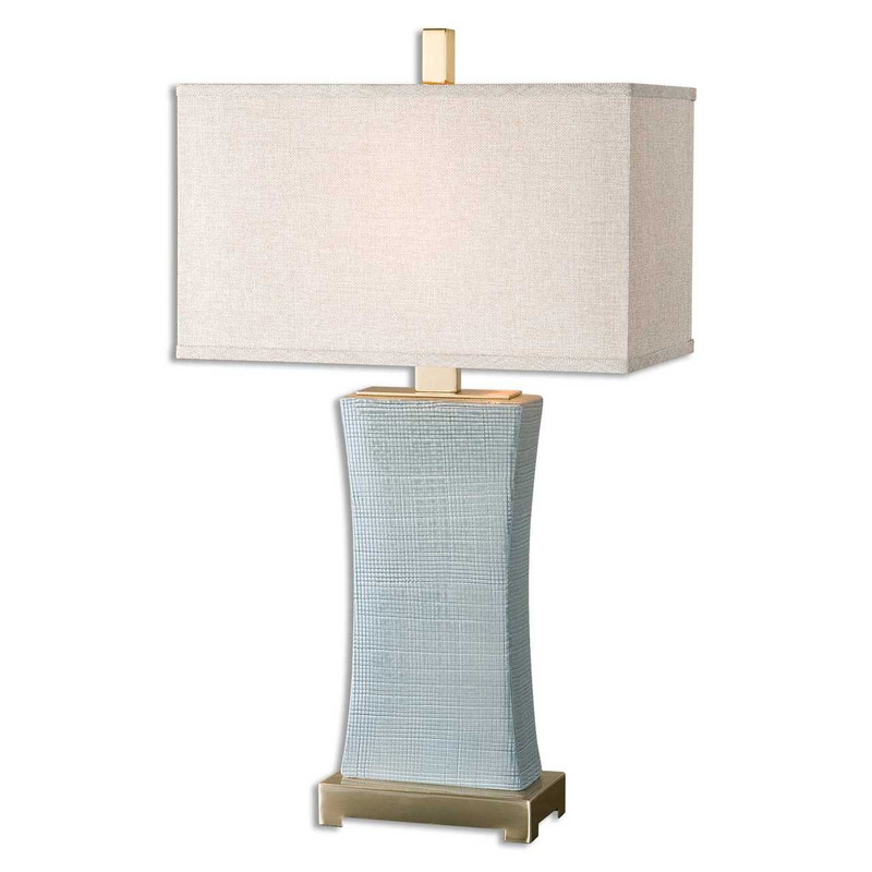 Plaid Table Lamp