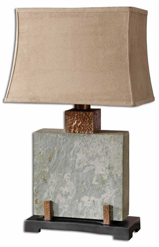 Teton Square Table Lamp