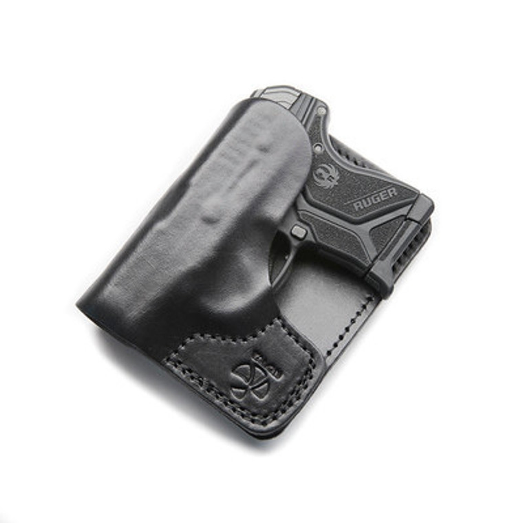 The Ruger LCP/LCPII Wallet in Right Hand Black