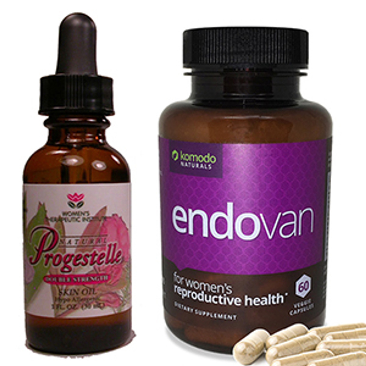 Deluxe ENDO Health Kit (Endovan, Progestelle) - Nattokinase dissolves blood  clots and adhesions