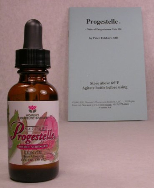 Progestelle Progesterone Oil Purer than Progesterone Cream