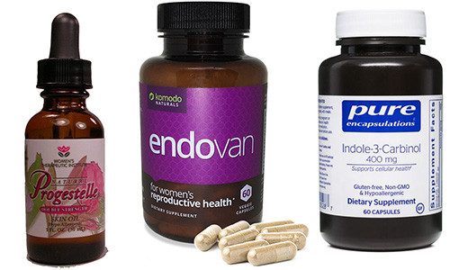 Premier ENDO Health Kit (Endovan, Progestelle, I-3-C 400 mg, 60 caps) 1 bottle of Progestelle and 1 bottle of Endovan and 1 bottle of Indole-3-Carbinol - Nattokinase dissolves blood clots and adhesions.