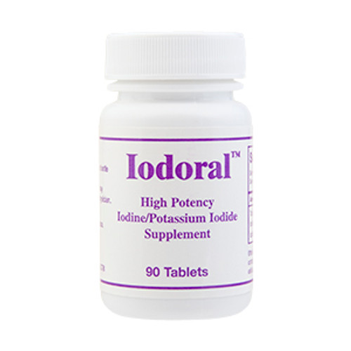 Iodoral -  Iodine (I2) and Iodide (I-) is for optimal thyroid function. Iodine forces bromine out of body stores and may give adverse effects. This is not from Iodine, but from bromine poisoning.