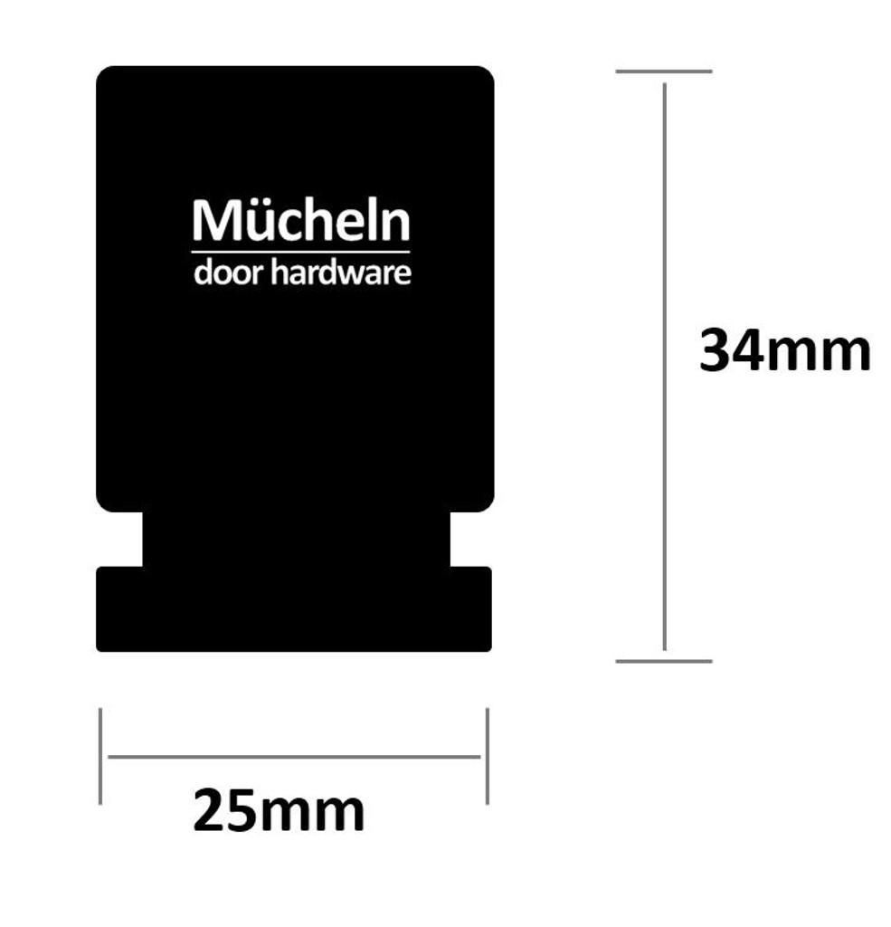 black knob II dimensions