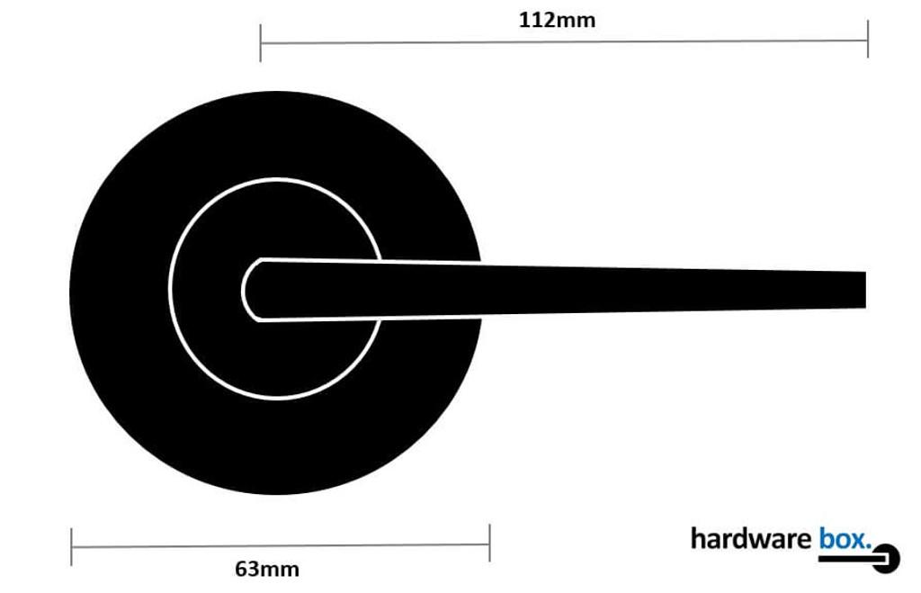 Nidus Black Handle Dimensions