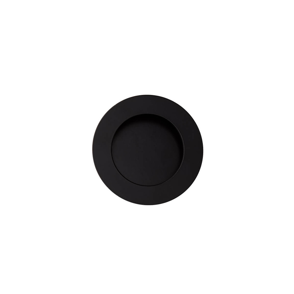 black flush handle 50mm top