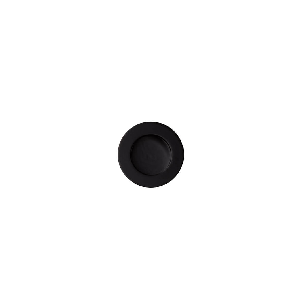 black 30mm flush pull top