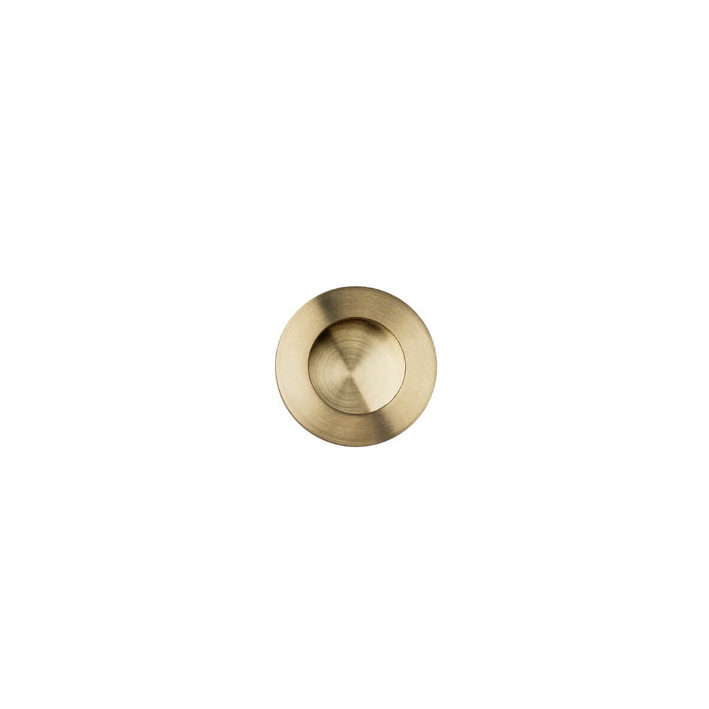 brass 30mm flush pull top