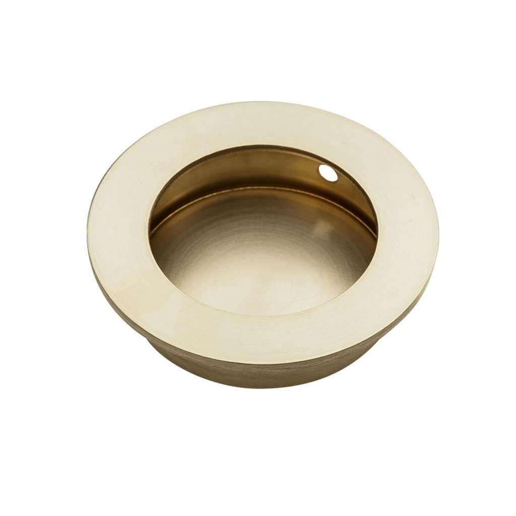 brass flush handle 70mm side