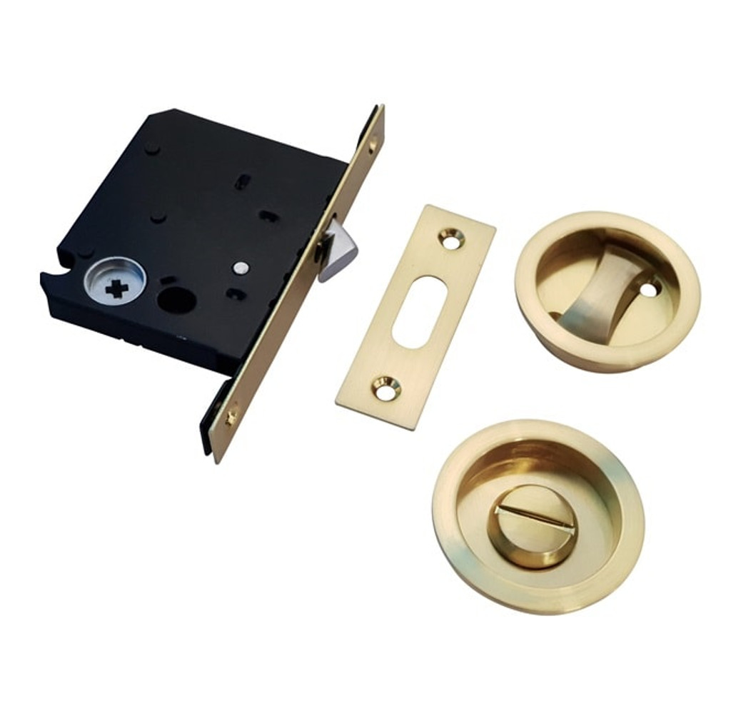brass cavity sliding latch