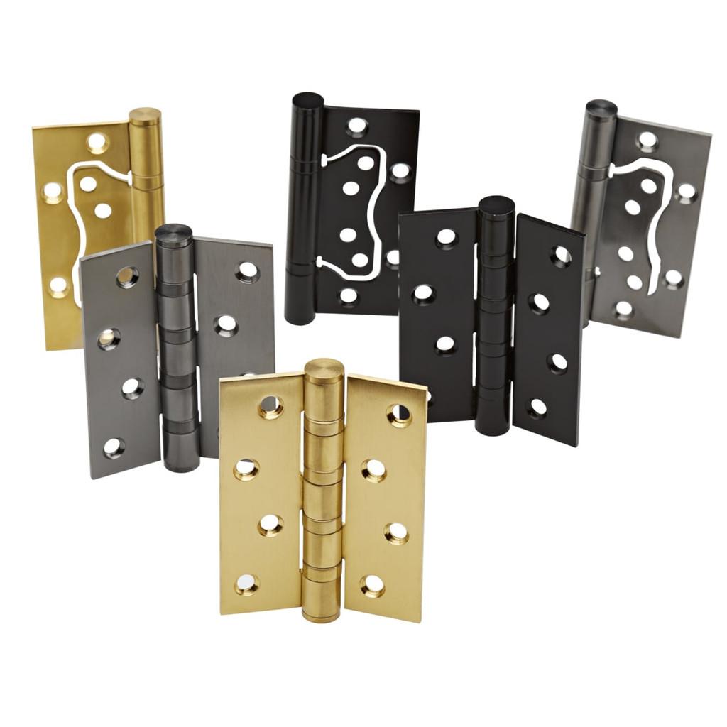 door hinge range brass gunmetal black