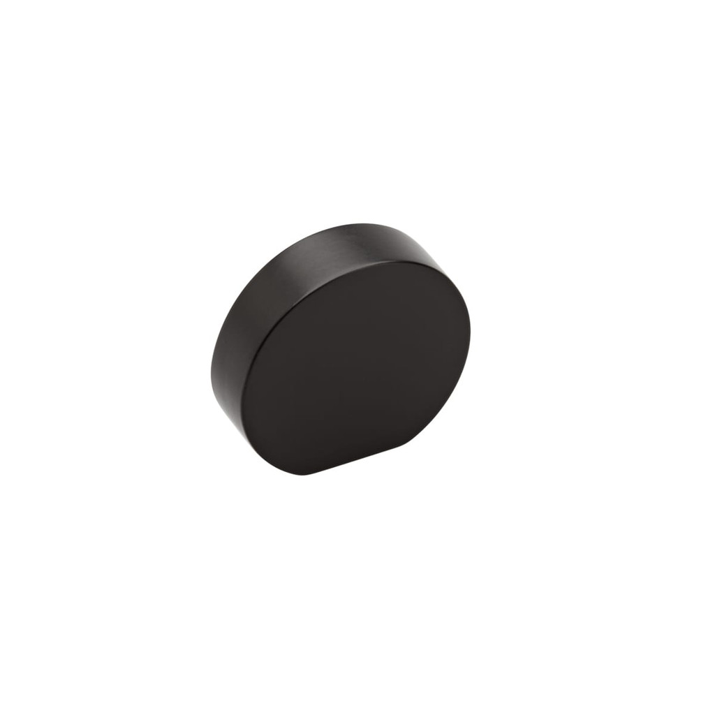 black curve cupboard knob 25