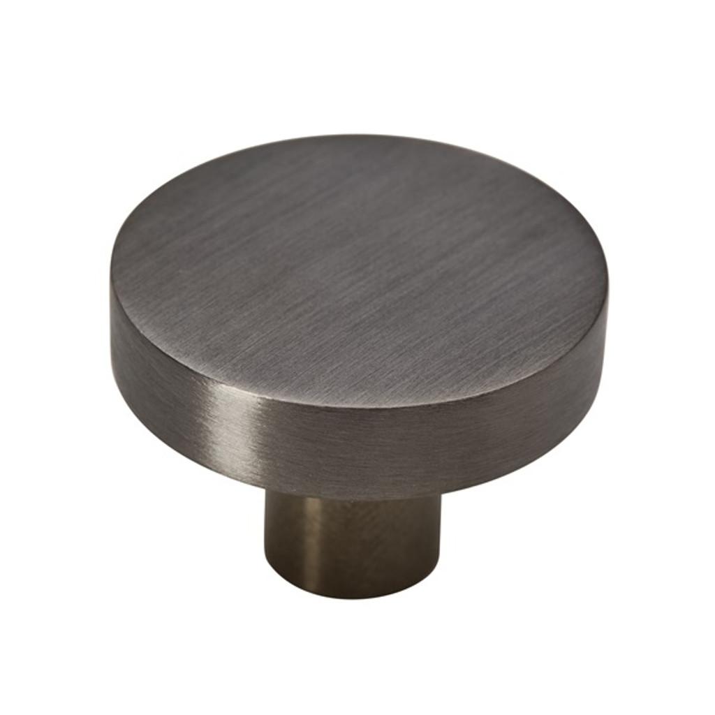 gunmetal grey 35mm knob side