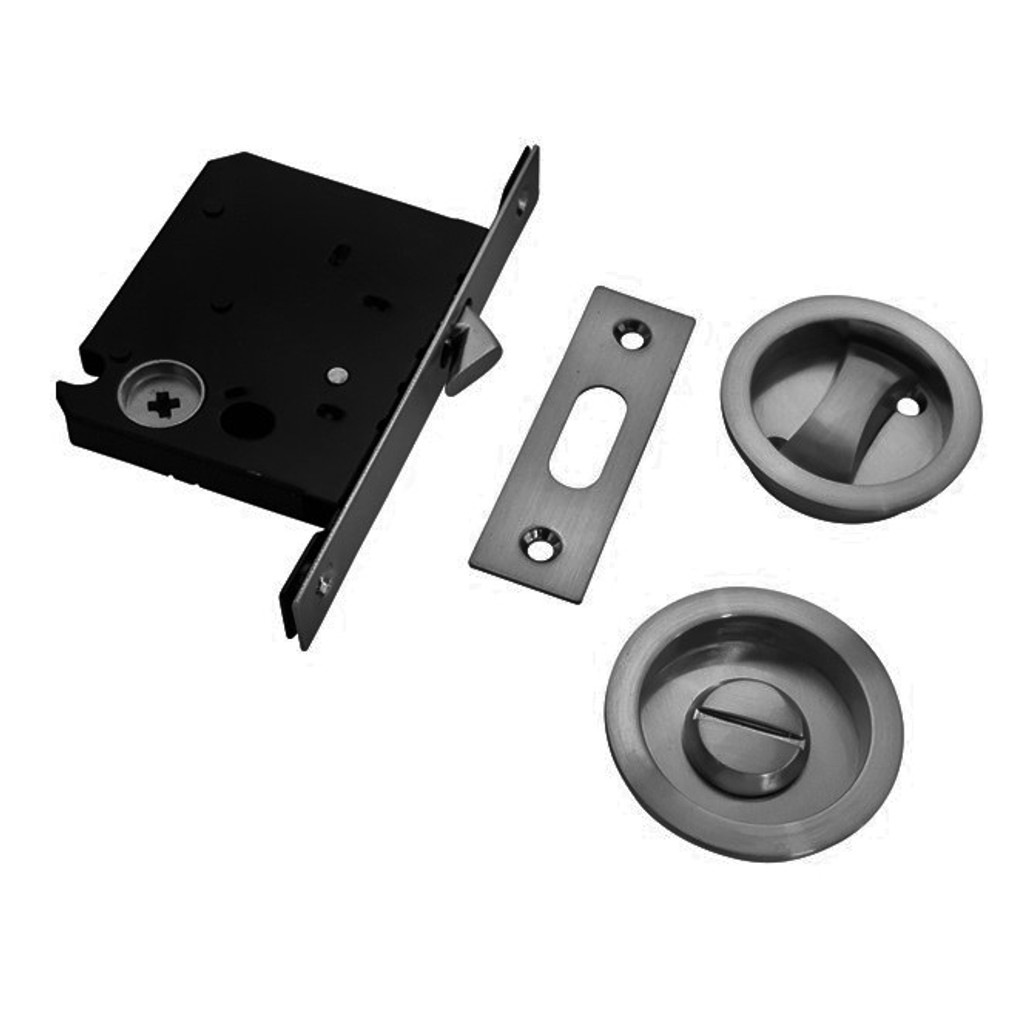 gunmetal grey cavity sliding door lock parts