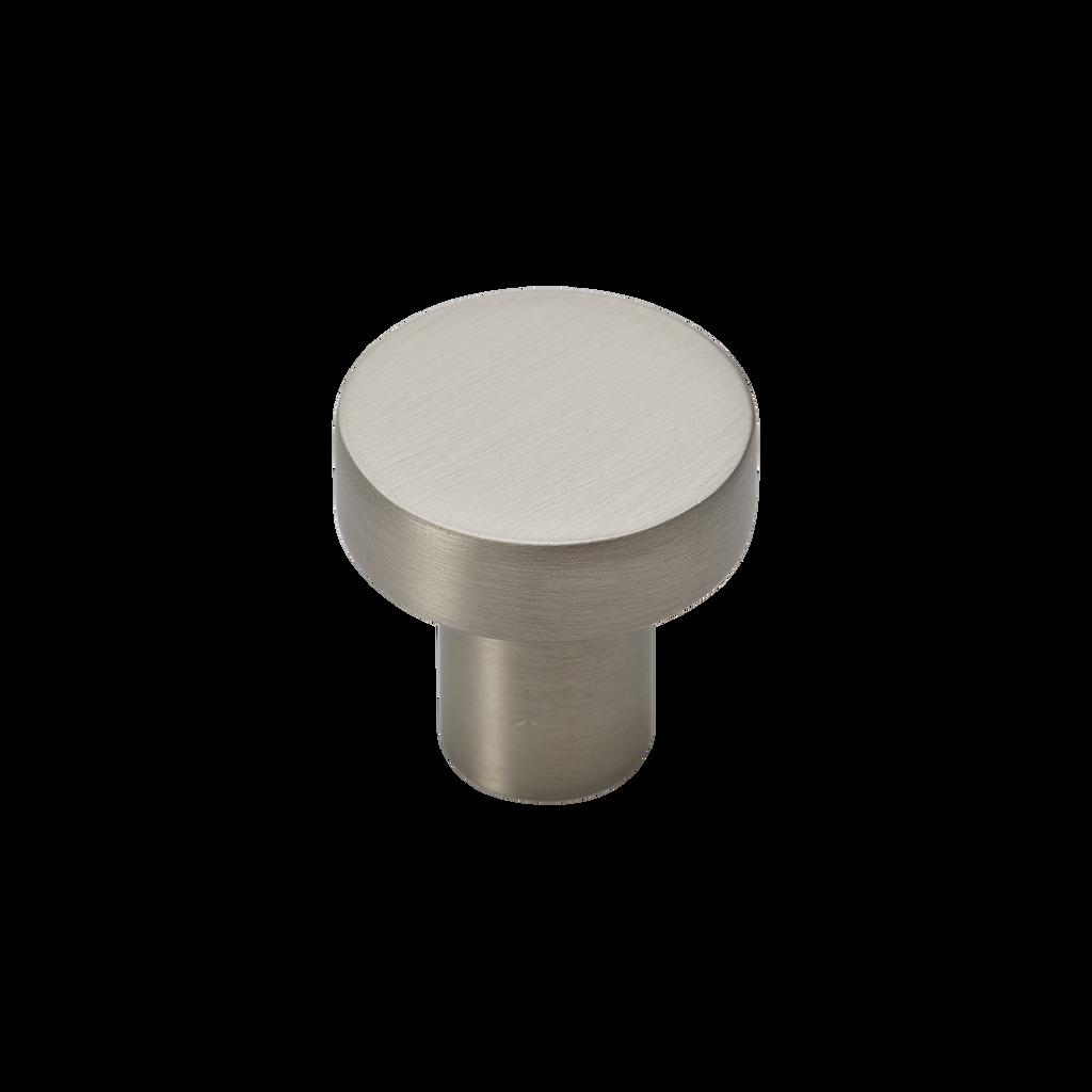 satin nickel 25mm pull knob