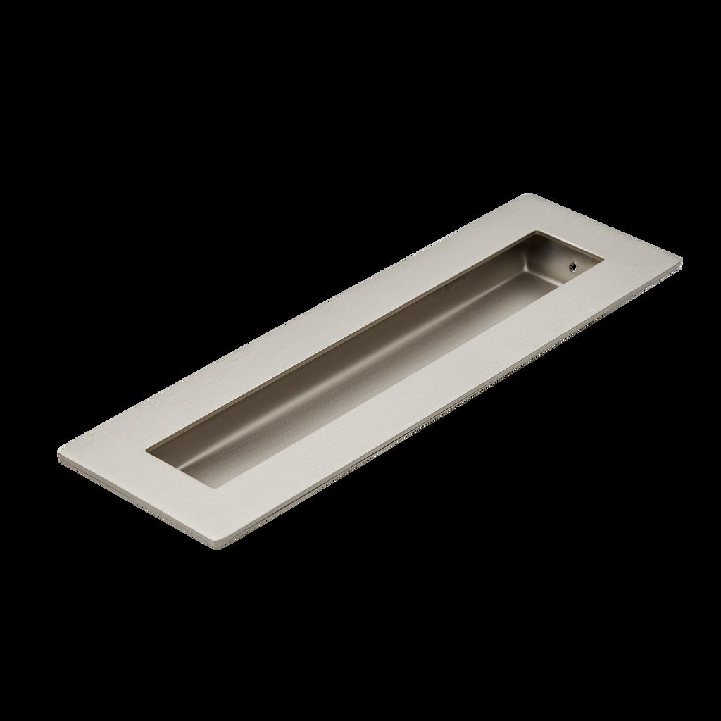 Satin Nickel 200mm flush door handle