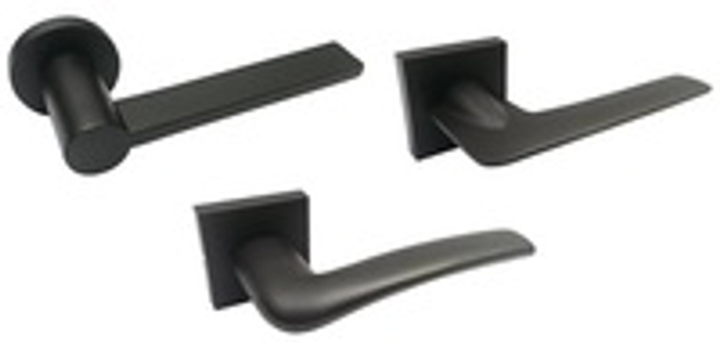 Matte Black Door Handles