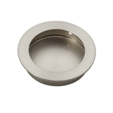 satin nickel flush handle 70mm side