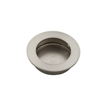 satin nickel flush handle 50mm side