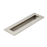 Satin Nickel 200mm flush door handle