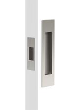 mardeco brushed nickel passage sliding door handle set