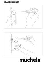 Black mucheln roller lock set.